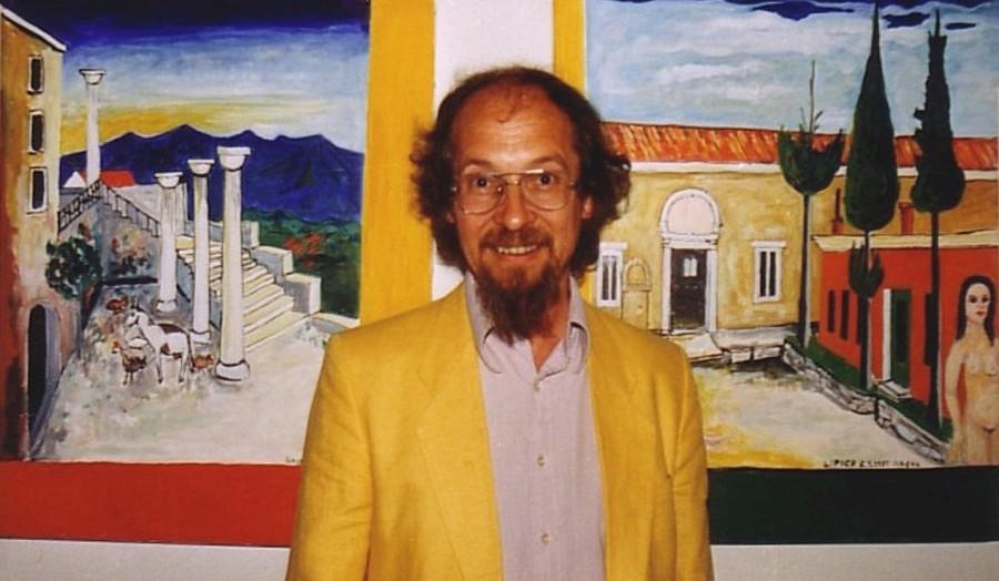 Der Maler, Bildhauer und Kunsttherapeut Georg Kress