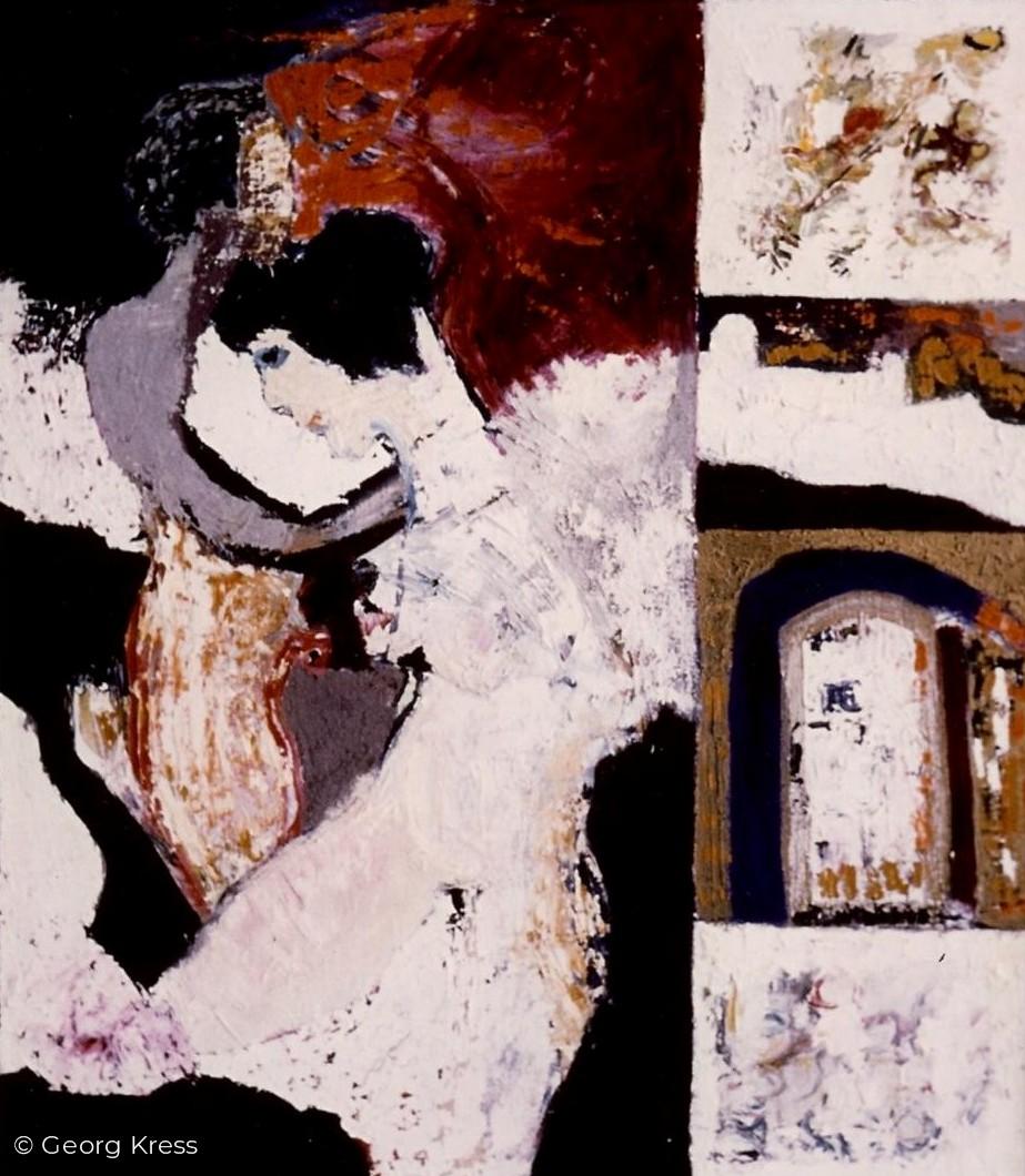 Griechische Impression. 1965. Öl auf Leinwand.
